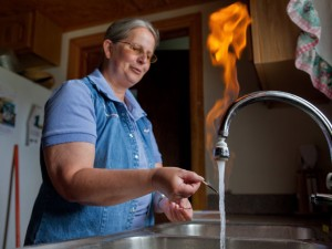 Flammable Tap Water: Credit to http://treadlightlyadv.com/